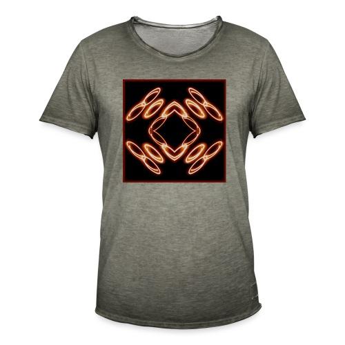 Lichtertanz #1 - Männer Vintage T-Shirt