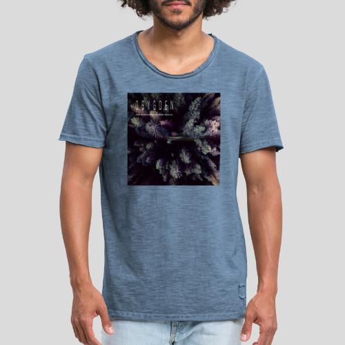 obygden from above 3000 3000 - Vintage-T-shirt herr