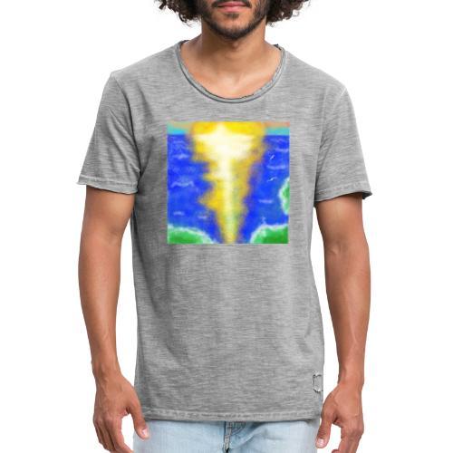 lux semper vincit - Männer Vintage T-Shirt