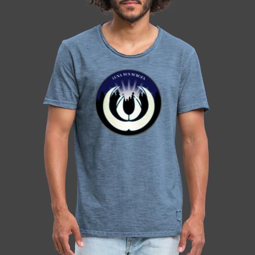 Luna sus scrofa - der Schweinemond von Jägershirts - Männer Vintage T-Shirt