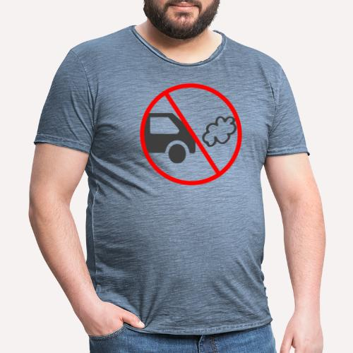 No Car Pollution - Men's Vintage T-Shirt