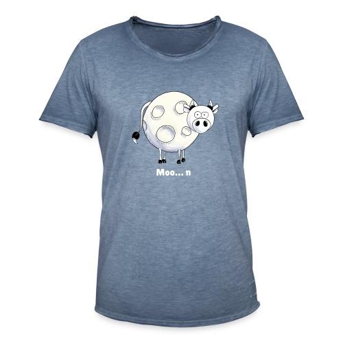 Moo…n - Men's Vintage T-Shirt