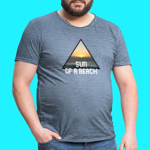 Sun of a beach - Herre vintage T-shirt