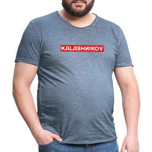 KALASHNIKOV - Männer Vintage T-Shirt