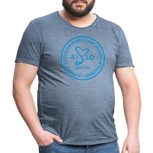 Rislo Logo - sisäiseen käyttöön - Miesten vintage t-paita