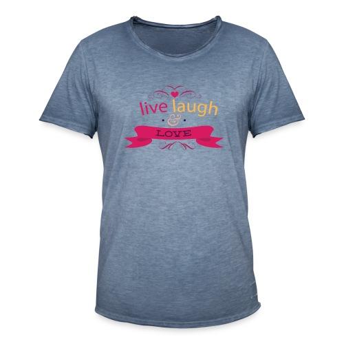 Valentinstag - Männer Vintage T-Shirt