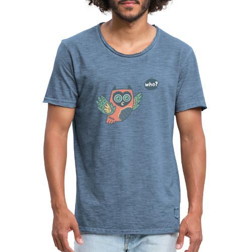 Portfolio w3 - Männer Vintage T-Shirt