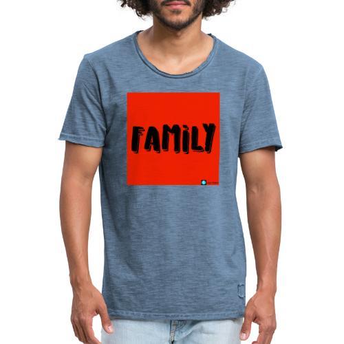 FAMILY - Vintage-T-shirt herr