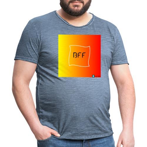 bff rainbow - Vintage-T-shirt herr