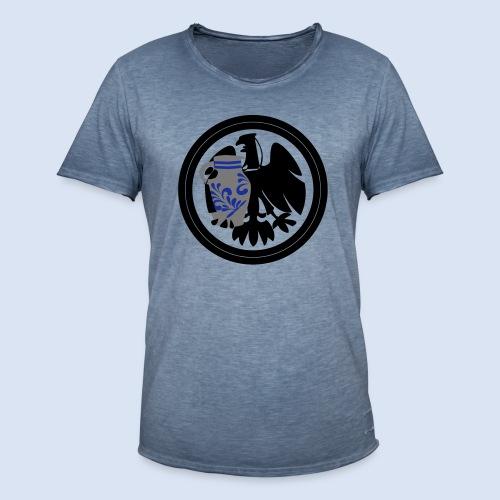 Bembel Adler - Adler Fans Frankfurt #Adlerfans - Männer Vintage T-Shirt