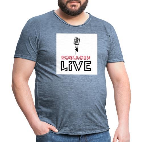 Roslagen Live - Vintage-T-shirt herr
