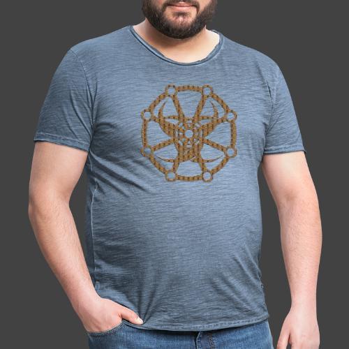 Finkianer Rune 3 - Männer Vintage T-Shirt