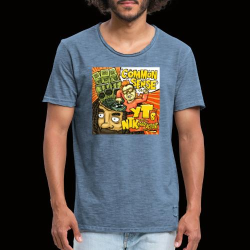Common Sense Artwork - Men's Vintage T-Shirt