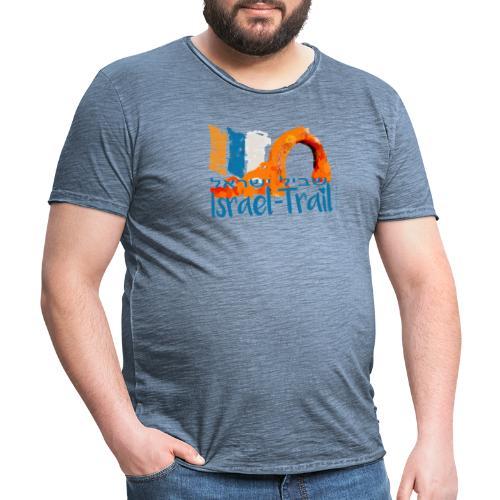 Israel National Trail Kibbuz Dan Shvil Israel blue - Männer Vintage T-Shirt