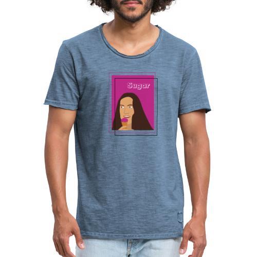 SUGAR - Camiseta vintage hombre