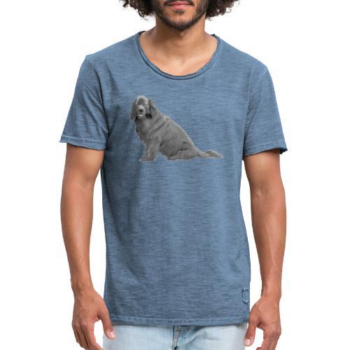 newfoundland - Herre vintage T-shirt
