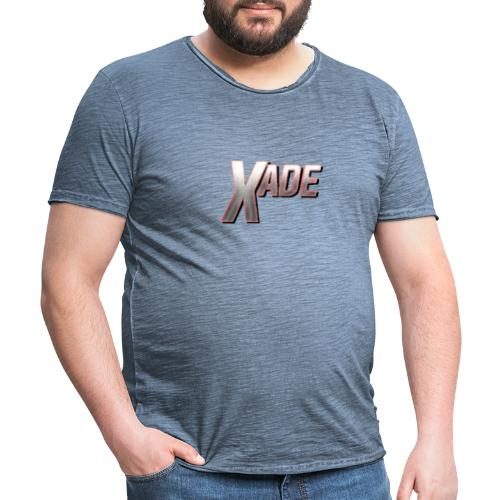 XaD3 LoGo - Männer Vintage T-Shirt