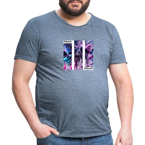 PEAK RELAX - Camiseta vintage hombre