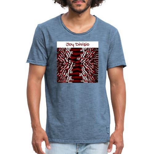 Joy Divisio - Camiseta vintage hombre
