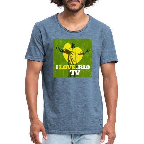 ILOVE.RIO TV - Men's Vintage T-Shirt