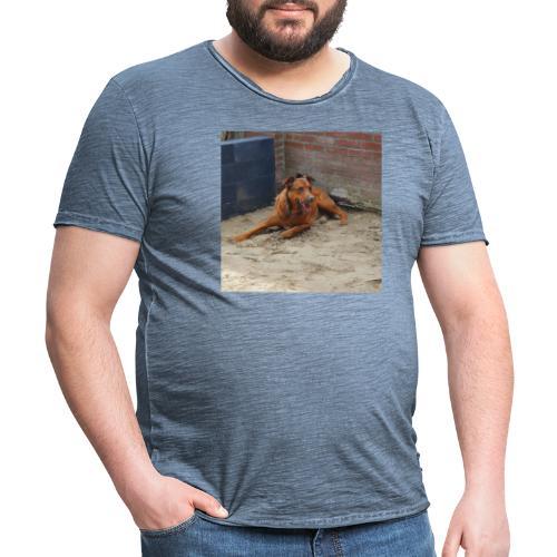 Honden - Mannen Vintage T-shirt