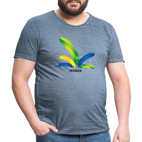 Bright Feather - Men's Vintage T-Shirt
