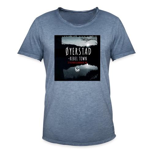 Øyerstad - opprørsby - Vintage-T-skjorte for menn