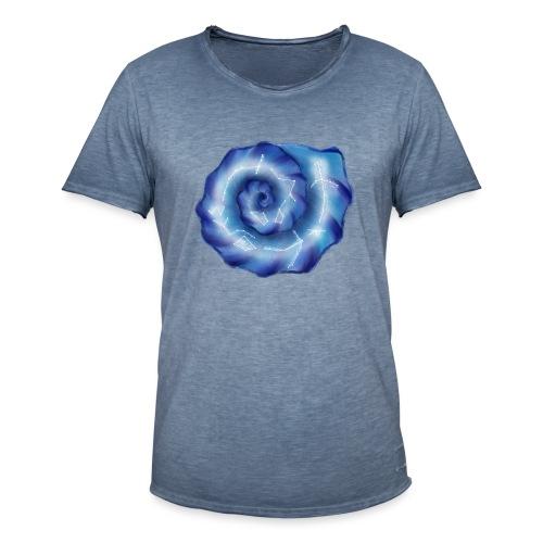 Galaktische Spiralenmuschel! - Männer Vintage T-Shirt