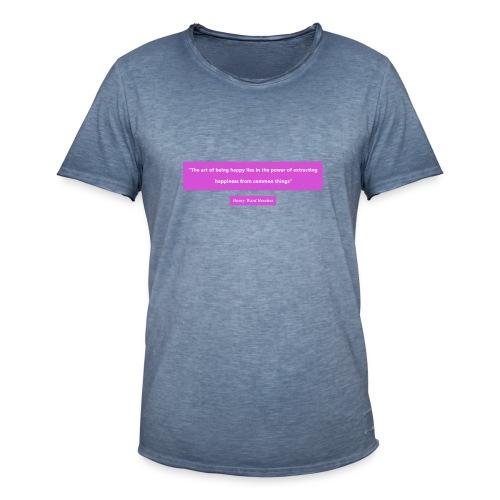 Design01 - Mannen Vintage T-shirt
