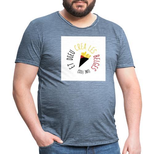 FRITES3 - T-shirt vintage Homme