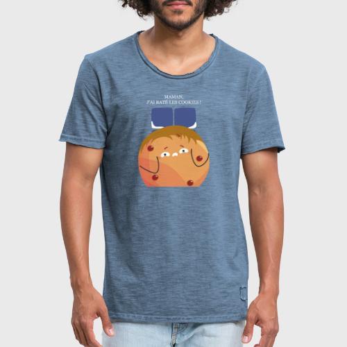 Maman, j'ai raté les cookies - T-shirt vintage Homme