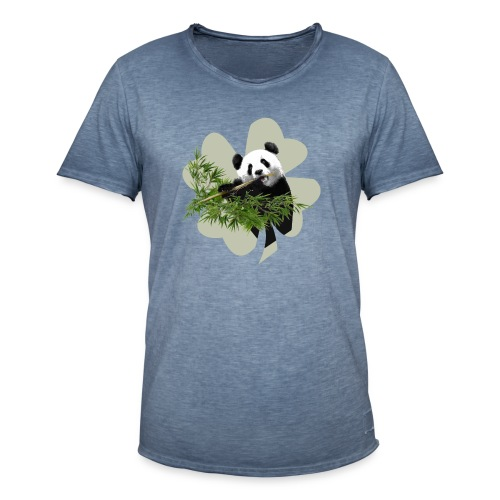 My lucky Panda - T-shirt vintage Homme