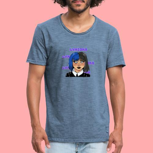 Lynioka Emo - T-shirt vintage Homme