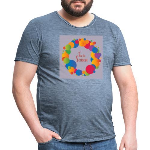 Magliette da donna con risvolti - Maglietta vintage da uomo