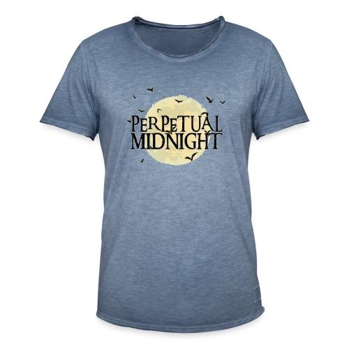 Perpetual Midnight - Men's Vintage T-Shirt