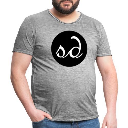 Stereodwarf logo - Men's Vintage T-Shirt
