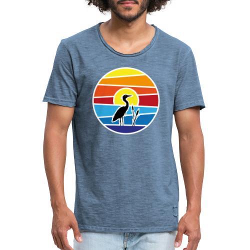 Bald isch's wieder schee-Fest 2021 (weiße Schrift) - Männer Vintage T-Shirt