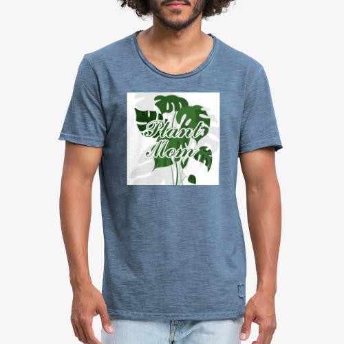Plant Mom - Koszulka męska vintage