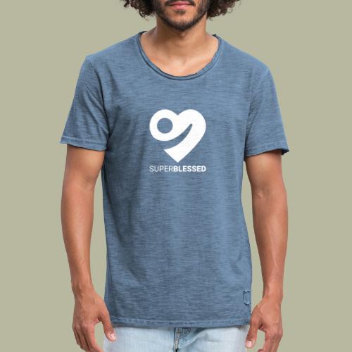 Superblessed - Männer Vintage T-Shirt