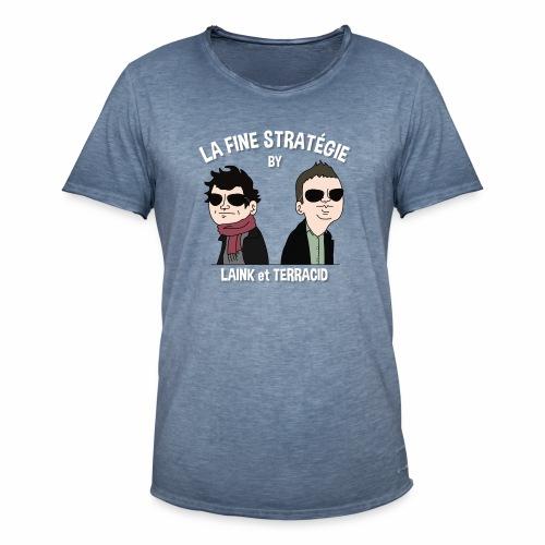 lafinestratégie - T-shirt vintage Homme