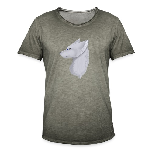 Wolf Bib - Men's Vintage T-Shirt