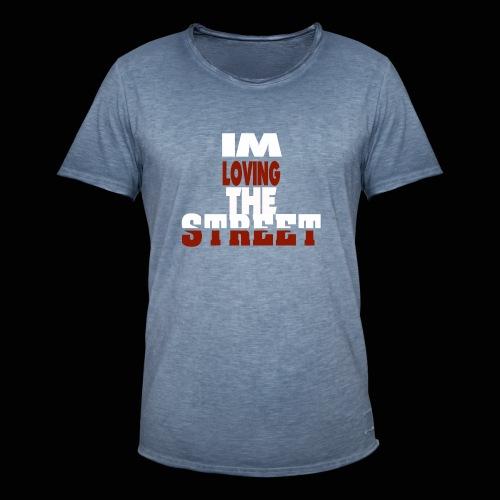 IMLOVINGTHESTREET - Herre vintage T-shirt