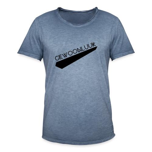 GewoonLuuk - Mannen Vintage T-shirt
