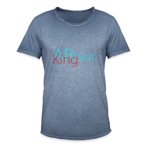 ARtsurKing Logo - Men's Vintage T-Shirt