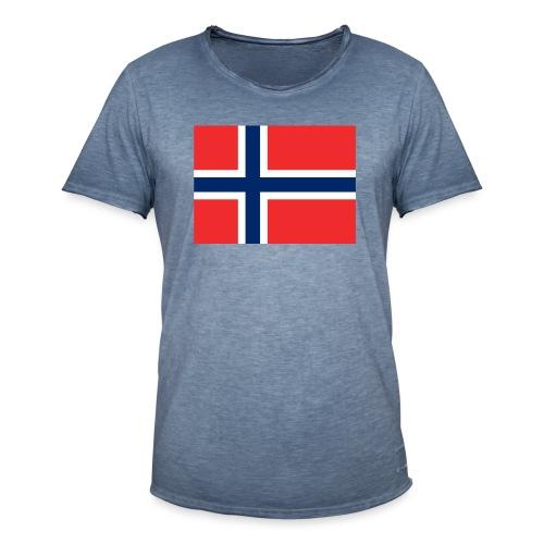 DixieMertch - Vintage-T-skjorte for menn