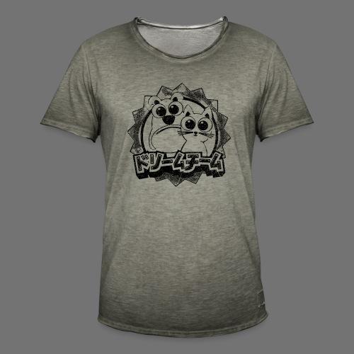 Dream Team (1c black) - Men's Vintage T-Shirt