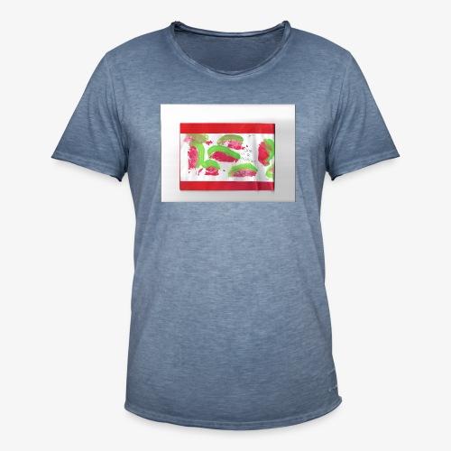 melon - Mannen Vintage T-shirt