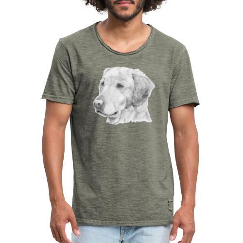Golden retriever 2 - Herre vintage T-shirt