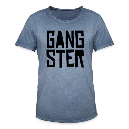 GANGSTER - Camiseta vintage hombre