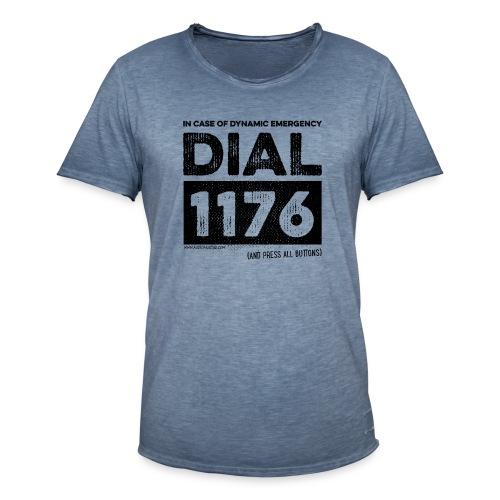 DIAL 1176 - T-shirt vintage Homme